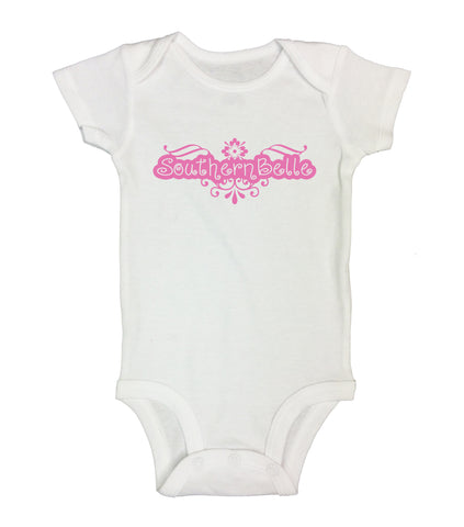 "Cute Baby Bodysuit ""Southern Belle"" RB Clothing Co."