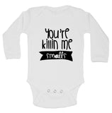 "Cute Sandlot Inspired Baby Bodysuit ""You're Killin Me Smalls"" RB Clothing Co"