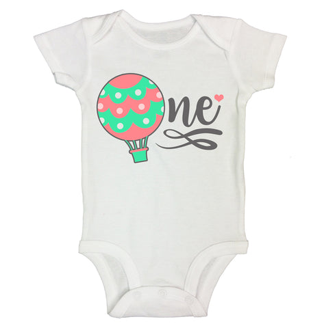 Cute 1 Year Old Baby Graphic Bodysuit RB Clothing Co