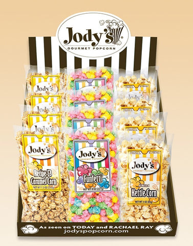 Funfetti Counter Display - Jodys Wholesale Popcorn