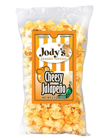 Cheesy Jalapeno Popcorn 2.5 oz Bag | 12 Bags/Case - Jodys Wholesale Popcorn - 1