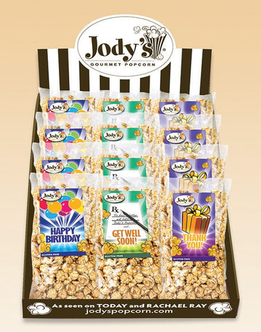 Gift Shop Counter Display - Jodys Wholesale Popcorn