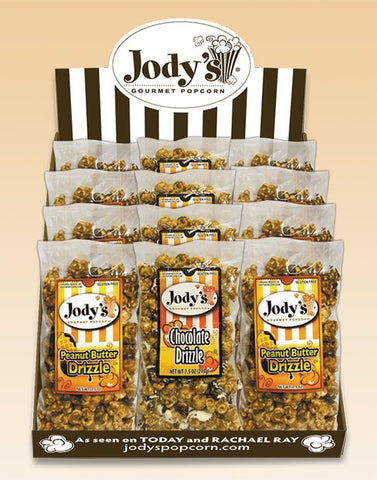 Drizzles Counter Display - Jodys Wholesale Popcorn