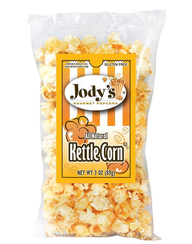 Kettle Corn 3 oz Bag | 12 Bags/Case - Jodys Wholesale Popcorn - 1