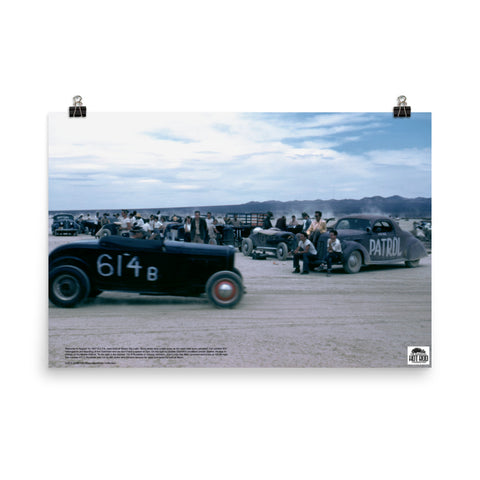 Historic Print #10: SCTA Meet at Harper Dry Lake (1947)