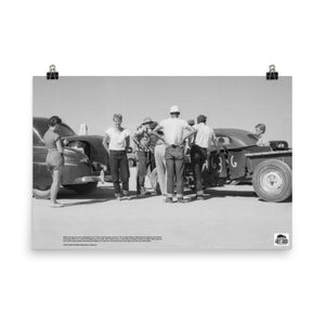 Historic Print #18: Annabele-Nelson-Talbot at El Mirage (1949)