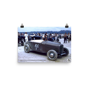 Historic Print #20: Robert Drew at El Mirage (1947)