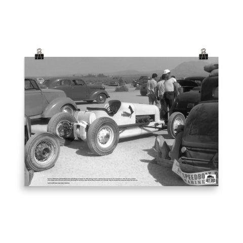 Historic Print #22: Karl Orr's Modified at El Mirage (1946)