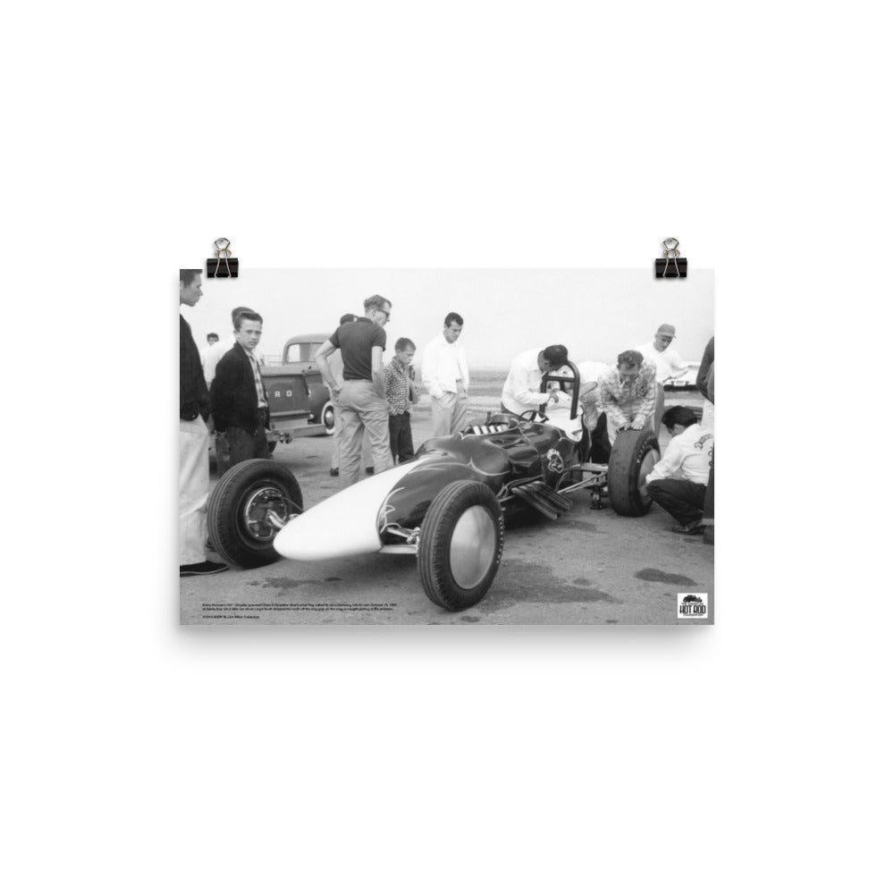 Historic Print #09: Harry Duncan's Roadster at Santa Ana (1955)