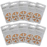 Power One Hearing Aid Batteries - Pack of 60