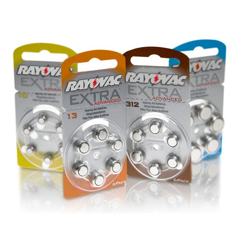 Rayovac Hearing Aid Batteries - Pack of Six