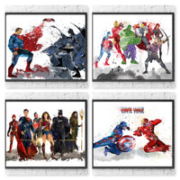 Marvel vs DC Superhero Gift Set