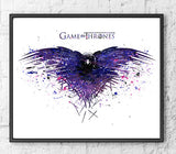 Game of Thrones Gift Set Digital Watercolour Posters