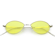 DAPMOD MANCA OVAL SHAPED COLOURED LENS SUNGLASSES RND1914