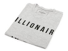 T SHIRT BILLIONAIRE IN THE MAKING GREY