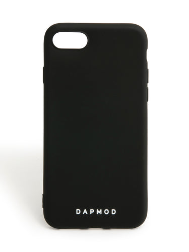 IPHONE CASE DAPMOD ALL BLACK CASE