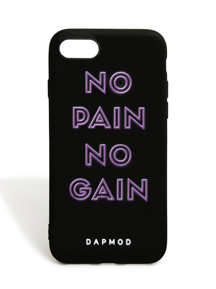 IPHONE CASE NO PAIN NO GAIN