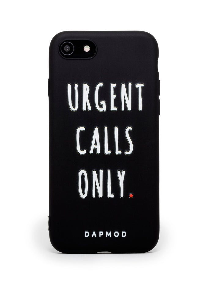 IPHONE CASE URGENT CALLS ONLY
