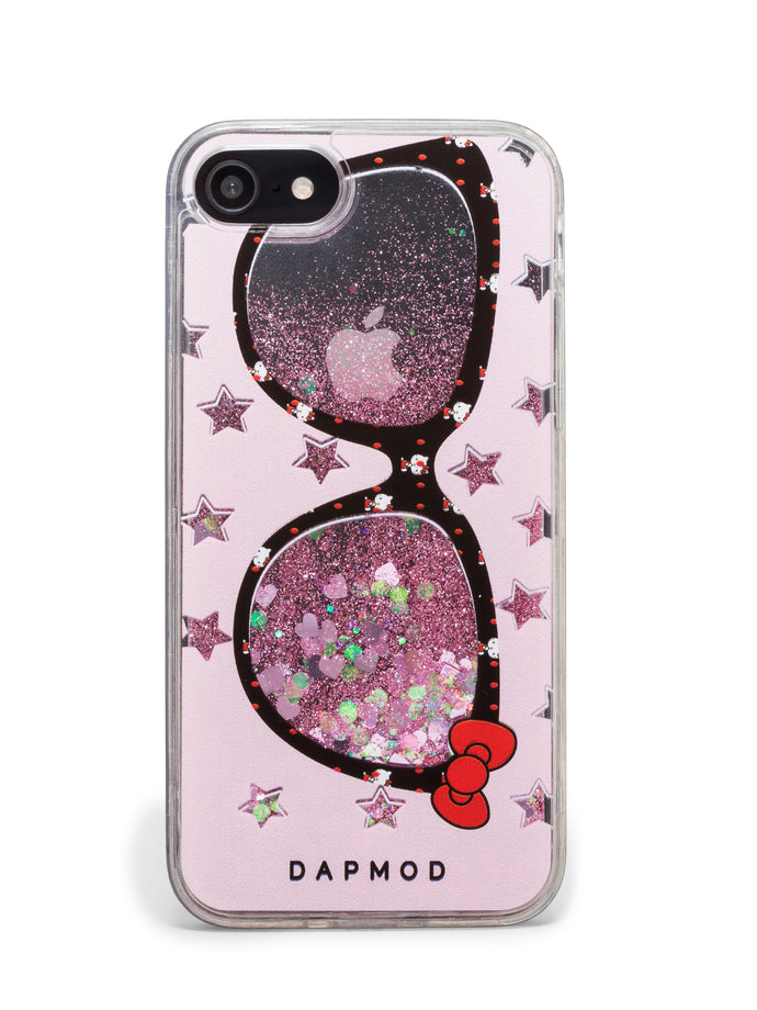 IPHONE CASE DAPMOD GLITTER SUNNIES