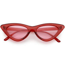 DAPMOD BERLIN TRANSLUCENT CAT EYE GLASSES CAT1919