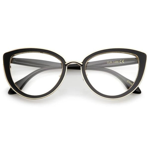DAPMOD METAL CLEAR CAT EYE  CLR042