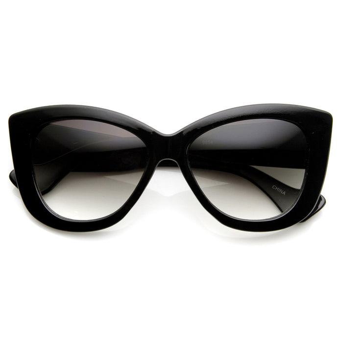 DAPMOD THICK FRAME CAT EYE GLASSES CAT015