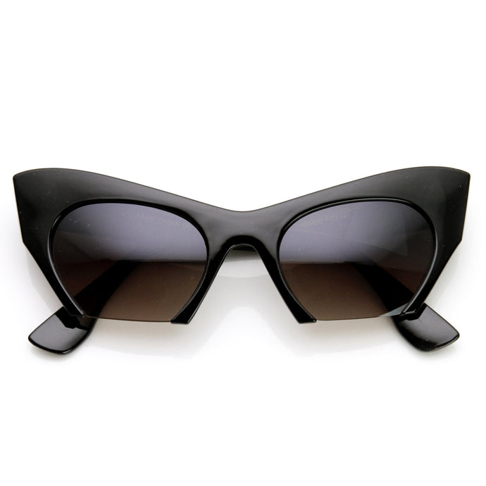 DAPMOD BOTTOMLESS CAT EYE SUNGLASSES CAT015