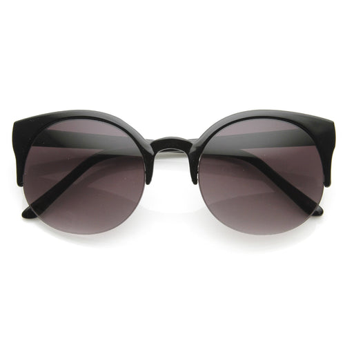 DAPMOD HALF FRAME CATEYE GLASSES CAT056