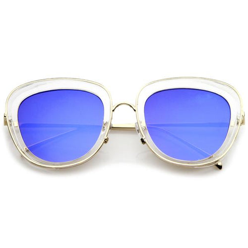 DAPMOD SEE THROUGH CAT EYE FRAME CAT065