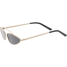 DAPMOD NARROW METAL FRAME RETRO SUNGLASSES CAT1902