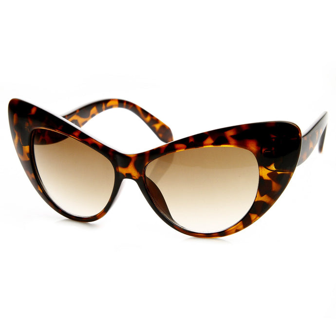 DAPMOD WIDE CATEYE GLASSES CAT012
