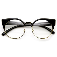 DAPMOD CLEAR MEAW CATEYE GLASSES CLR014