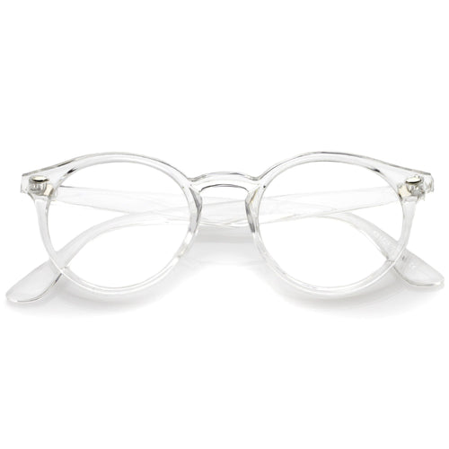 DAPMOD TRANSLUCENT DAPPER CLEAR GLASSES CLR1909
