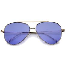 DAPMOD DOLLID AVIATOR COLORED LENS SUNGLASSES SQR1937