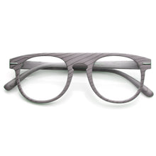 DAPMOD WOOD PRINT CLEAR GLASSES CLR1910