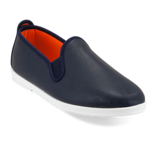 FLOSSY MADRID NAVY LEATHER