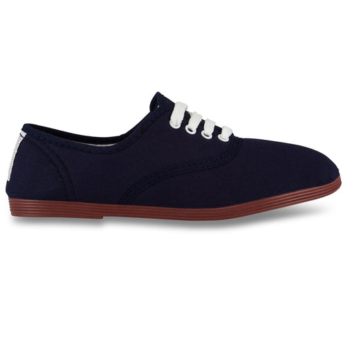FLOSSY NAVY BLUE LACE UP