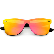 DAPMOD MILAN FLAT MIRRORED LENS SQUARE SUNGLASSES SQR1947