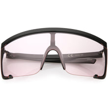 DAPMOD OVERSIZE SHIELD SUNGLASSES SQR1948