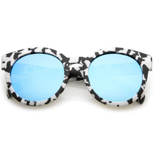 DAPMOD MARBLE ROUND EYE GLASSES RND065