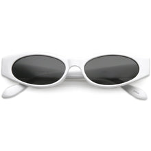 DAPMOD SLIM OVAL SHAPED RETRO SUNGLASSES RND1904