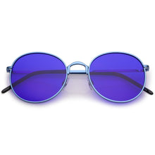 DAPMOD LEON COLOR POP LENS SUNGLASSES RND1908
