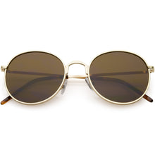DAPMOD JAEN METAL ROUND EYE SUNGLASSES RND1916