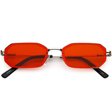 DAPMOD VITORIA RETRO COLOURED LENS SUNGLASSES SQR1932