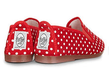 FLOSSY POLKA DOTS RED