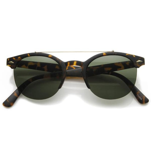 DAPMOD TOP BAR SQUARE GLASSES SQR039