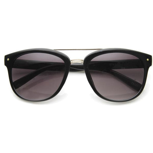 DAPMOD DOUBLE BAR SQUARE GLASSES SQR042