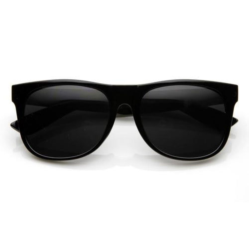 DAPMOD BLACK MOD SQUARE GLASSES SQR109