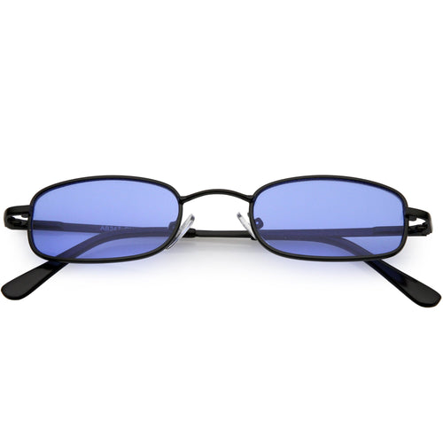 DAPMOD COLORED LENS VITAGE SQUARE SUNGLASSES  SQR1924