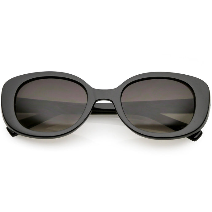 DAPMOD MARBELLA OVAL SHAPED SUNGLASSES SQR1931